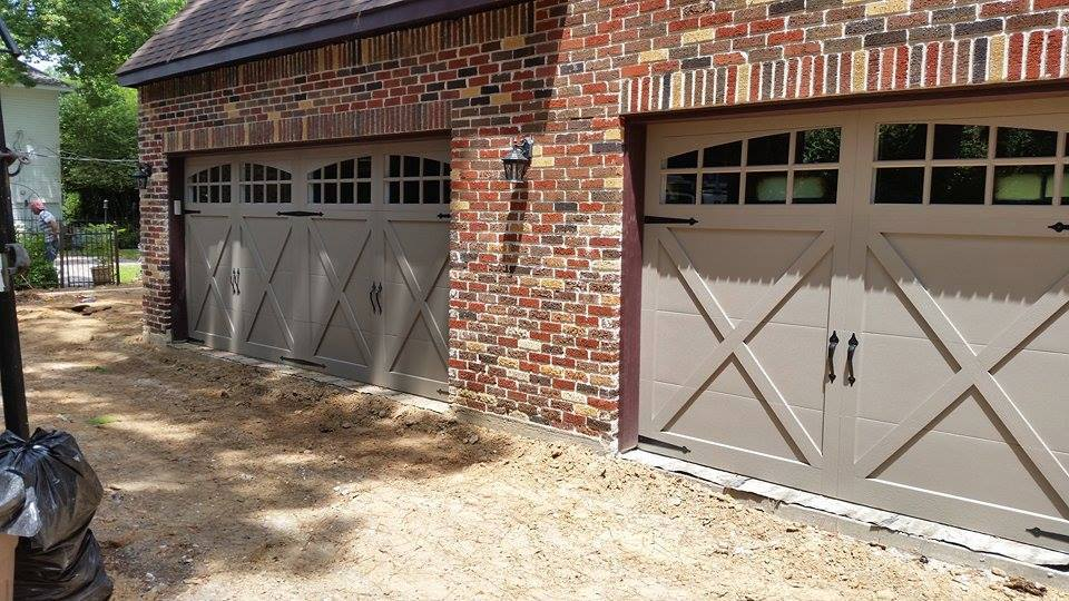 Nice New Construction Garage Doors