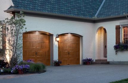 Lovely Wooden Garage Doors Houston
